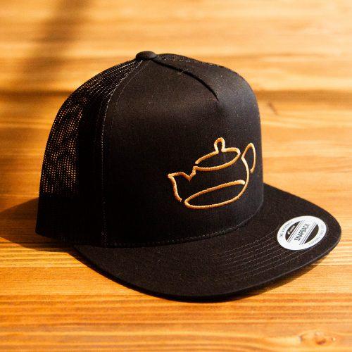 Five-Panel Classic Mesh Cold Tea Trucker Hat